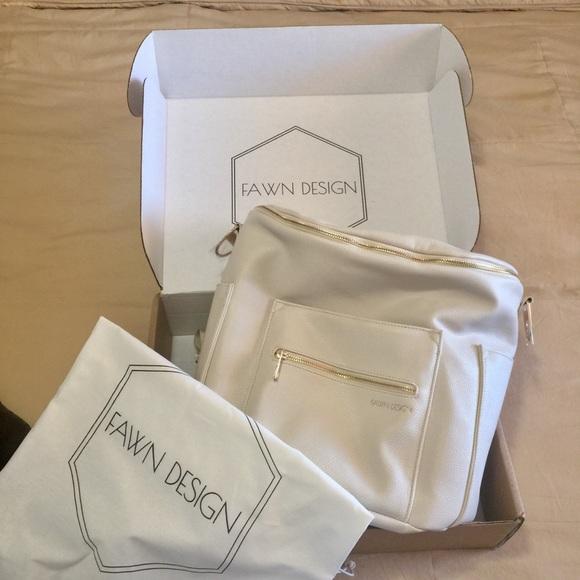 1b7b89e0a722 Limited Edition Oatmeal Fawn Design Diaper Bag